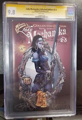 Lady Mechanika Collected Edition #2 And #3 Cgc 9.8 Signature 1286907018 Comic