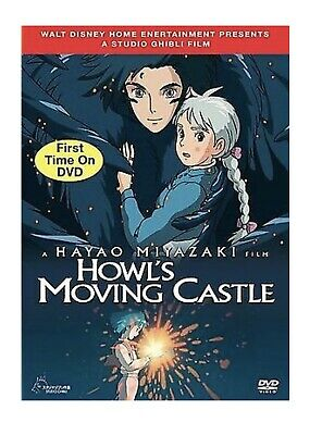 Howls Moving Castle (DVD, 2006, 2-Disc Set) Anime Japan Cartoon Classic NEW