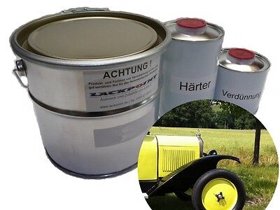3,5 Liter Set 2K Auto Paint Vintage Car Pattern or Desired No Clear Coat