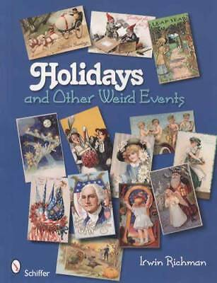 Vintage Weird Holiday Postcards Collector Guide Christmas St Patricks Day Etc