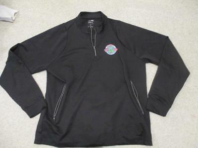 Adidas Golf Coombe Hill 2010 GB & US black climalite jumper top adult