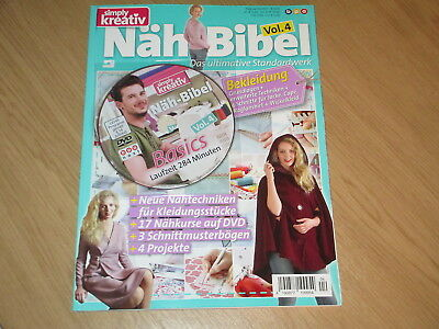 Simply Kreativ 4/2017 - Näh-Bibel Vol. 4 + Dvd: Basics - Top  +++