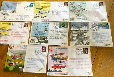 Job Lot Of  Raf First Day Covers