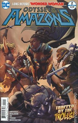 Odyssey of the Amazons (2016 DC) #2 VF
