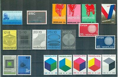 N70 Netherlands    All stamps of the year 1970 in complete sets   Very Fine MNH