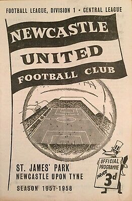 Newcastle United v Wolverhampton Wanderers  Div 1  1957/58