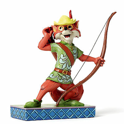 "JIM SHORE Figur N°4050416 - ENESCO DISNEY Skulptur - ""ROBIN HOOD - Roguish Hero"""