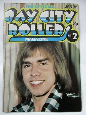 Bay City Rollers Official Magazine No 2  January 1975