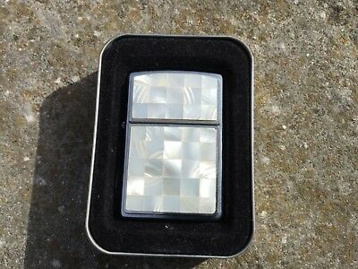 Genuine Mother Of Pearl Zippo Lighter Brand New