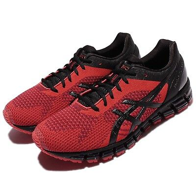 Asics Gel-Quantum 360 Knit Red Black Men Running Shoes Sneakers T728N-2690