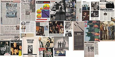 U2 : CUTTINGS COLLECTION -adverts interview-