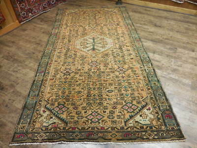 Ca1930s VGDY ANTIQUE PERSIAN LILIHAN MALLAYER SAROUK 5.1x10 ESTATE SALE RUG