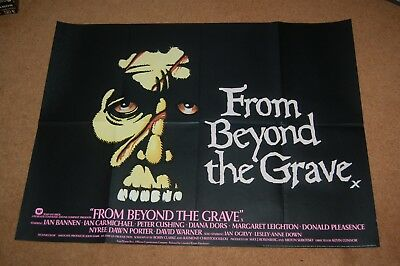 From Beyond The Grave (1974)  Very Rare Original Uk Quad  Amicus - Peter Cushing