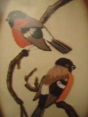 Unused Abelcraft  Embroidery Kit - Bullfinches