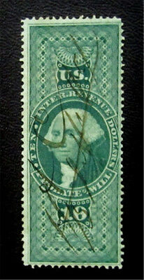 nystamps US Revenues Stamp # R96c Used $45