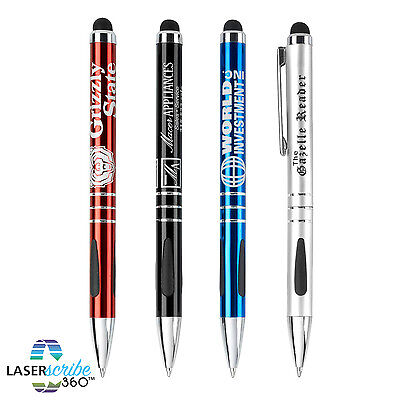 Twist Stylus Pens Personalized Custom Imprint Promotional Marketing Advertising