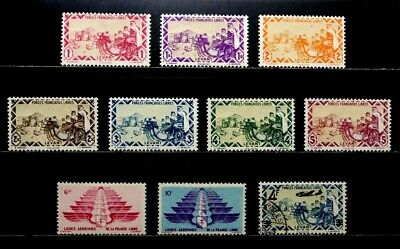 Syria: 1942-3 Military Stamp Collection Sound All Complete Sets