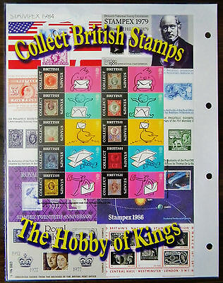 BC-020 - Collect British Stamps Smilers Stamp Sheet