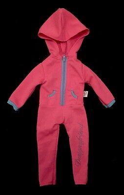 """Design A Friend 18"""" Dolls Hooded All In One Outfit"""