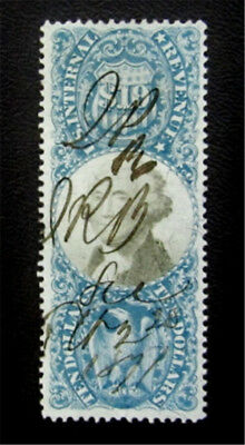nystamps US Revenues Stamp # R128 Used $230