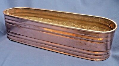 Vintage Copper Planter / Window Box