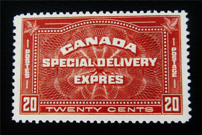 nystamps Canada Special Delivery Stamp # E4 Mint OG NH UN$200 VF