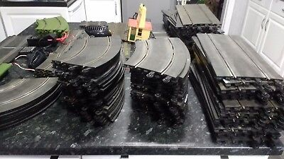 Huge amount Job lot Vintage SCALEXTRIC Slot Car Track