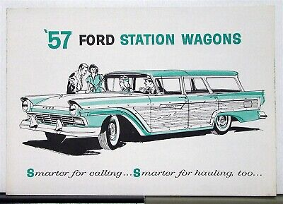 1957 Ford Station Wagons Sales Brochure