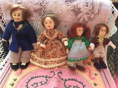 Vintage? Victorian Doll Family