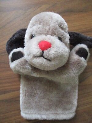 THE SOOTY & CO SHOW - SWEEP hand puppet handpuppet plush soft toy VGC #3