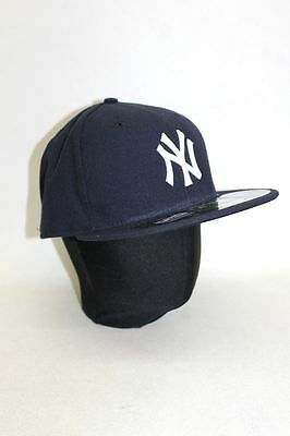 NWOT NEW ERA Men's Black New York Yankees 59FIFTY Official On Field Cap Size 7.5