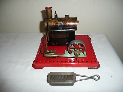 Mamod SE1, Stationary Steam Engine in Very Good Condition, inc Leaflet.