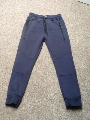 Next boys navy joggers age 7 years. Good condition.