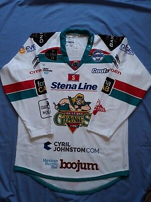 "Official Belfast Giants Ice Hockey Jersey,new,size Xl,44"""" Chest"