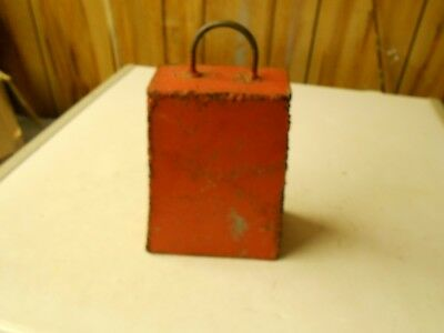 Homemade Large Painted Cow Bell