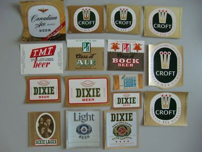 (Ö)~ old beer labels from USA (1) ~(Ö)