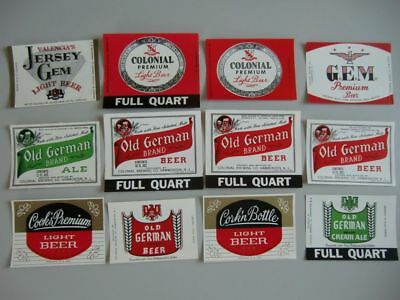 (Ö)~ old beer labels from Colonial Hammonton N.J. USA ~(Ö)