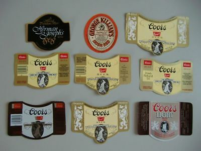 (Ö)~ old beer labels from Golden Colorado USA ~(Ö)