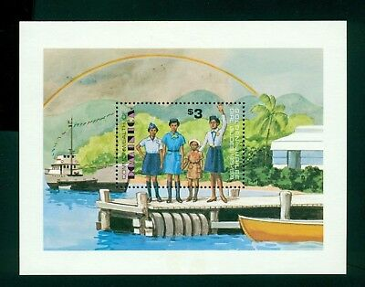 Dominica Scott #634 MNH Girl Guides in Dominica Scouting $$