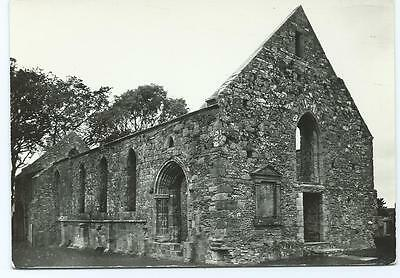 Black and White Postcard of Whithorn Priory, Whithorn, Scotland