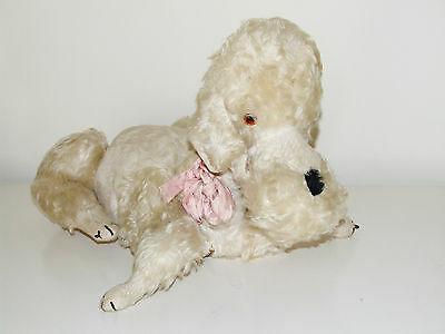 Merrythought POODLE Pyjama Case Soft Toy - Vintage