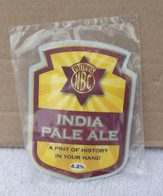 Phipps NBC India Pale Ale Pub Pump Clip. Beer / Ale / Drink / Alcohol.