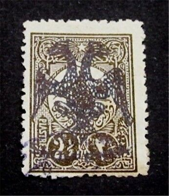 nystamps Albania Stamp # 1 Used $650