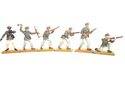 Britains Deetail Set Of 6 German Afrika Korps Infantry