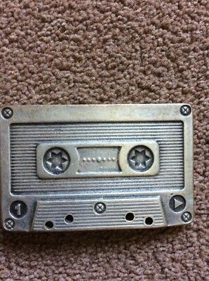 Tape Cassette Belt Buckle .