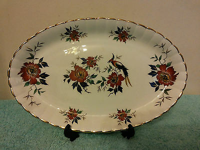 "Vintage Royal Stafford 9"" Oval Bone China  Dish.   New.  In Original Box"