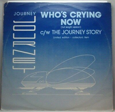 """Journey Who's Crying Now 12"""""""