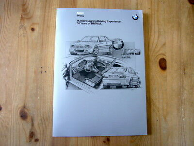 BMW 30 Years Of BMW M/Nurburgring press kit, 2002, excellent condition, rare