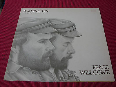 Tom Paxton:  Peace will come    EX+   LP