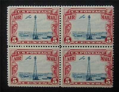 nystamps US Air Mail Block Stamp # C11 Mint OG NH $38 Block Of 4
